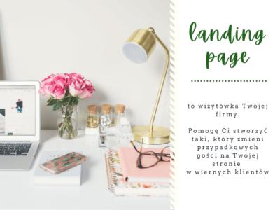 Oferty, teksty na landing page / Joanna Mączka