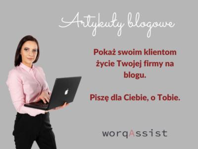 Artykuły blogowe / Agnieszka Pojda