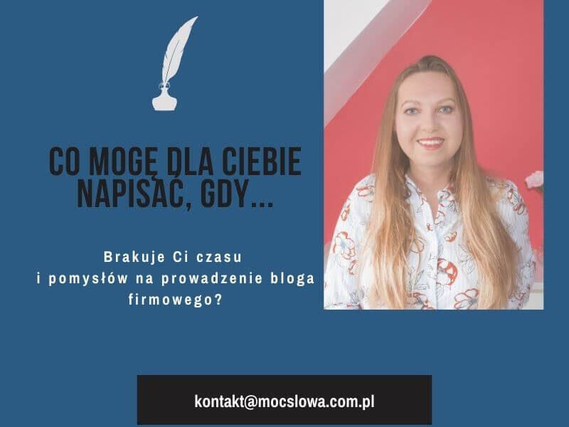 Artykuły blogowe / Anna Błażejewska-Płachecka