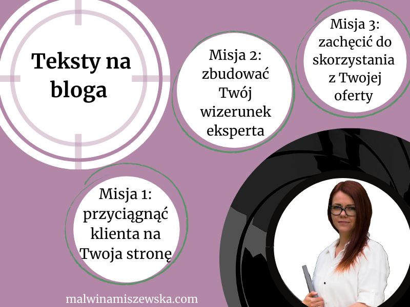 Artykuły blogowe / Malwina Miszewska