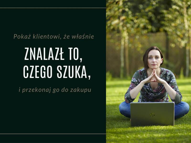 Oferty, teksty na landing page / Jolanta Bednarz