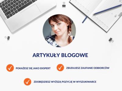 Artykuły blogowe / Monika Syminowicz
