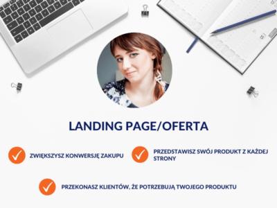 Oferty, teksty na landing page / Monika Syminowicz
