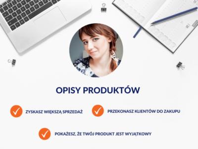Opisy produktów / Monika Syminowicz