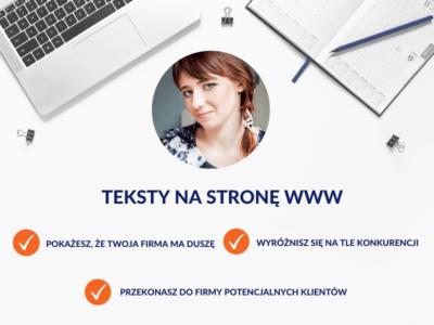 Teksty na stronę WWW / Monika Syminowicz