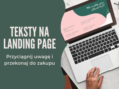 Oferty, teksty na landing page / Żaneta Kaczmarczyk