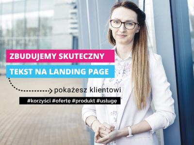 Oferty, teksty na landing page / Marzena Motyczka