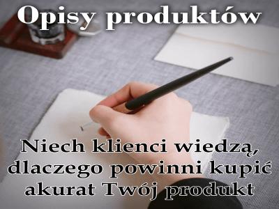 Opisy produktów / Paulina Parys